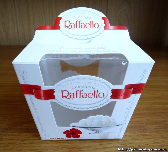 Своими руками из коробки raffaello и денег