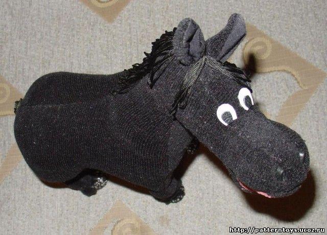 Выкройка лошади - фото