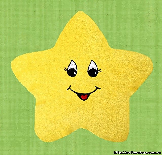 Как сшить игрушку звездочку 20