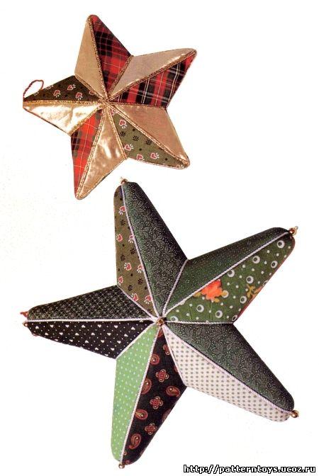 Выкройка звезды подушки: картинка